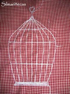 Como hacer una camiseta con aplique con aires vintage-
