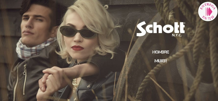 Oferta de ropa de la marca Schott