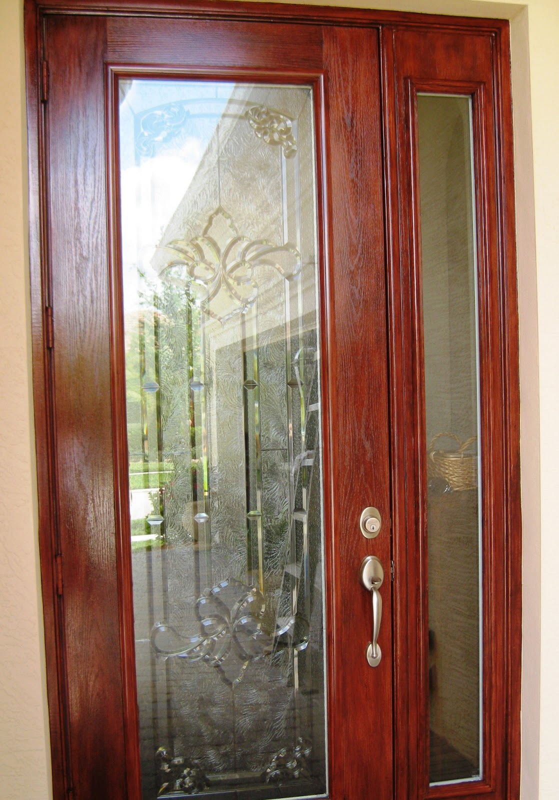 Best Gel Stain For Exterior Door A Metal Door Makeover A Very Naughty Dog And An Ad Space