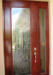 Array Of Color Inc Gel Stained Door
