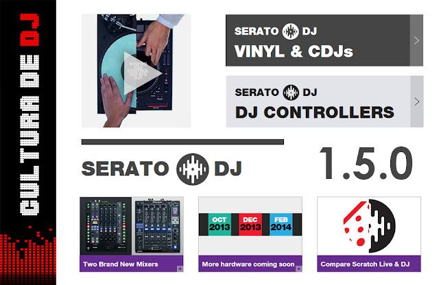 SERATO DJ 1.5.0 LANÇAMENTO