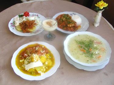 Gastronomia del azuay for Comida semana santa