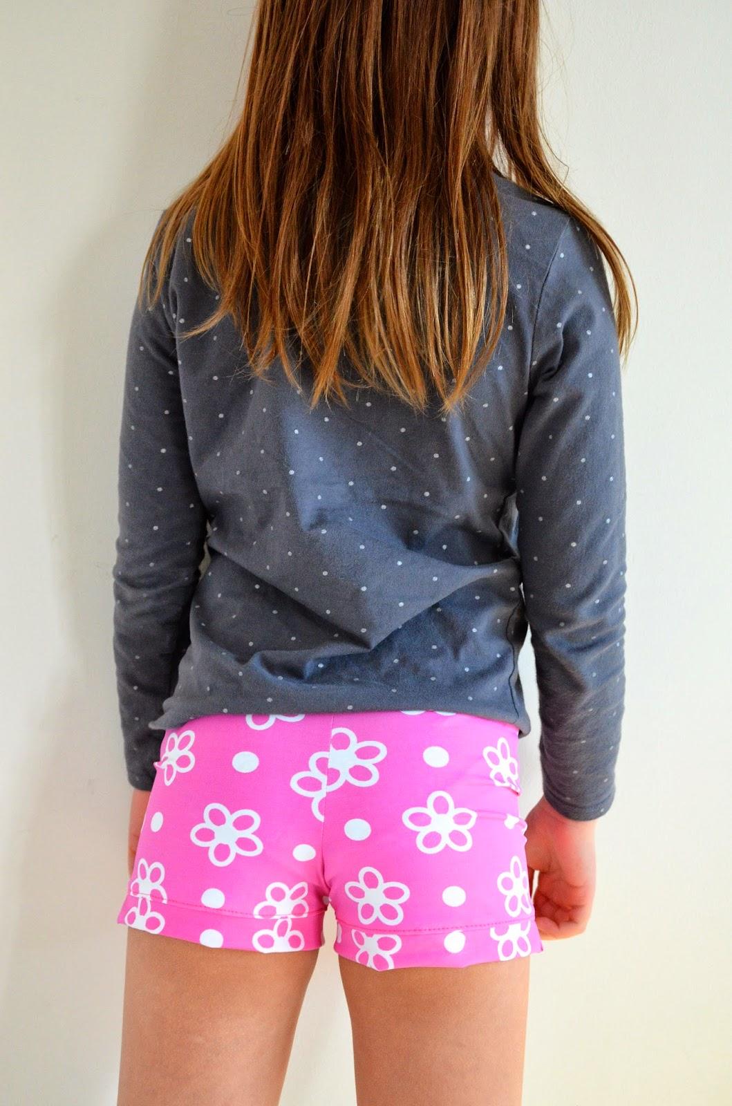 young girl shorts laura