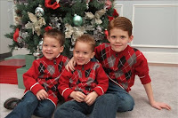 My grandsons,twins,Casey and Dylan and Austin..