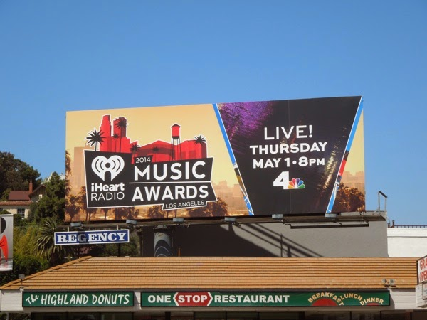 iHeart Radio Music Awards 2014 billboard