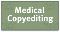 Copyediting newsletter: Questions for a Medical Copyeditor