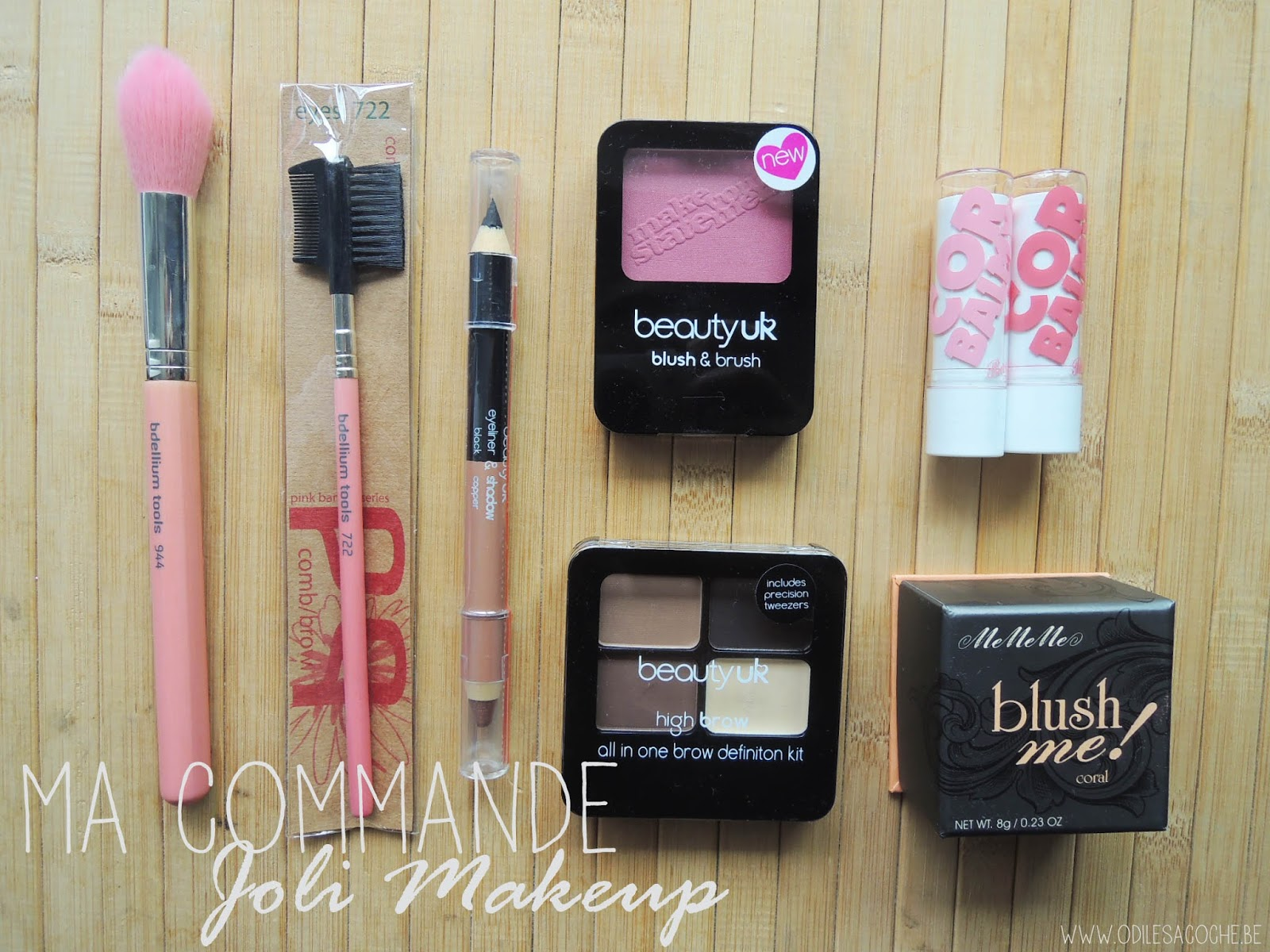 Haul MeMeMe, Beauty UK, BDellium Tools, Barry M