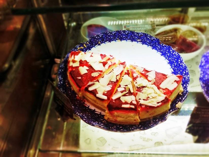 Red Velvet Cake at Caffe Nero