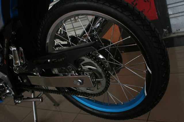 Pin Striping Duo Tone Satria Fu 150