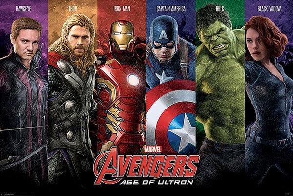 Poster Los Vengadores La Era de Ultron
