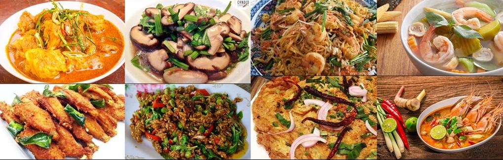 ครบเครื่องเรื่องอาหารไทย ขนมหวาน อาหารสารพัดเมนูสูตรอร่อย มีทั้งสูตรชาววัง และโบราณ