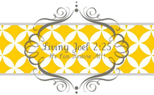 Living Joel 2:25