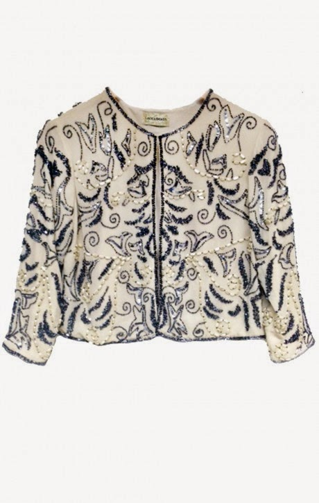 Ideal glitzy jacket or shrug for anyone with psoriasis