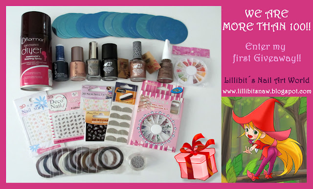 Sorteo en Lillibit's nail art world