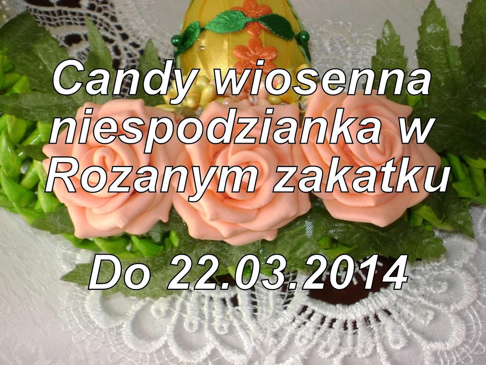 Candy wiosenna niespodzianka w Rózannym Zakątku