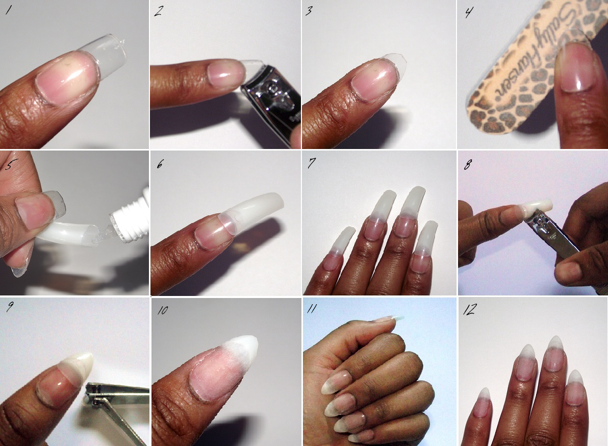 Get Rich Or DIY Trying: NAILS | Stiletto Manicure