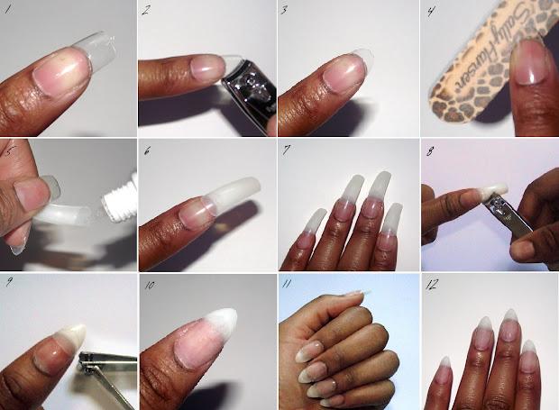 rich diy nails