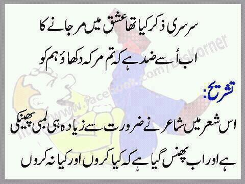 Urdu Funniest Poetry With Wallpaper
