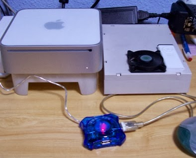 Ros y su mente inquieta: Mac Mini Intel ATX (hub USB)