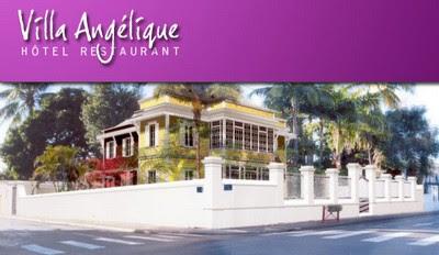 Villa Angélique Hôtel 4* et restaurant à St Denis