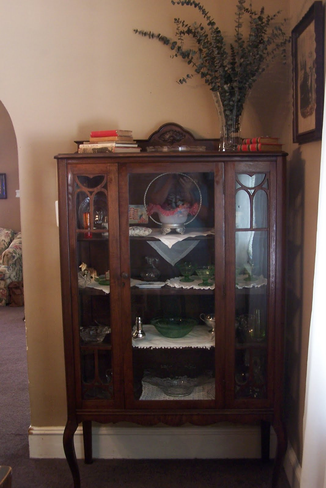 Ordinaire We Hauled It Home Today And Iu0027ve Spent The Day Moving Some Things From The Other  Cabinet And Putting In Things I Didnu0027t Have Room For.