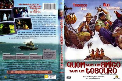 Filme Quem Tem Um Amigo, Tem Um Tesouro DVD Capa