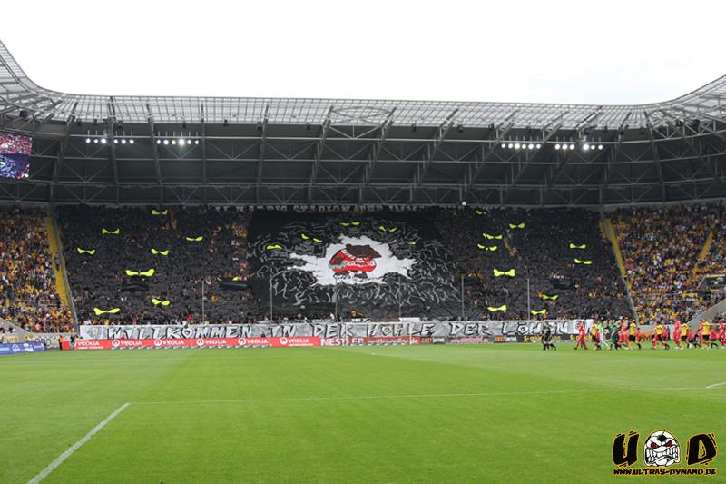 Sg Dynamo Dresden Vs Union Berlin  Choreo