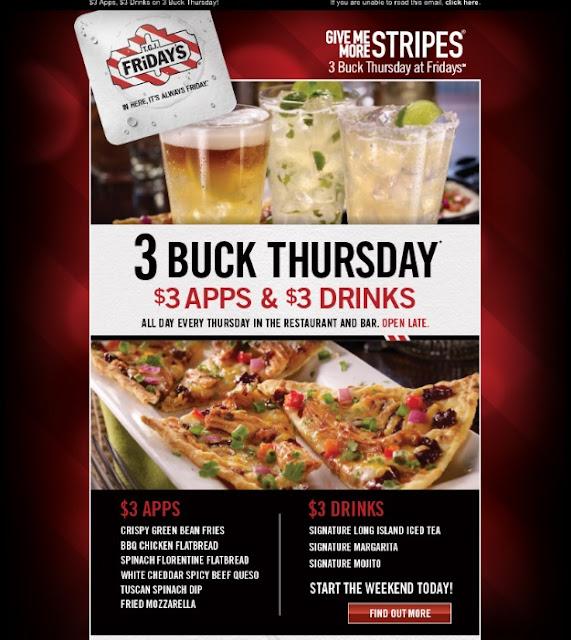 Tgi Friday S Tuesday Food Specials