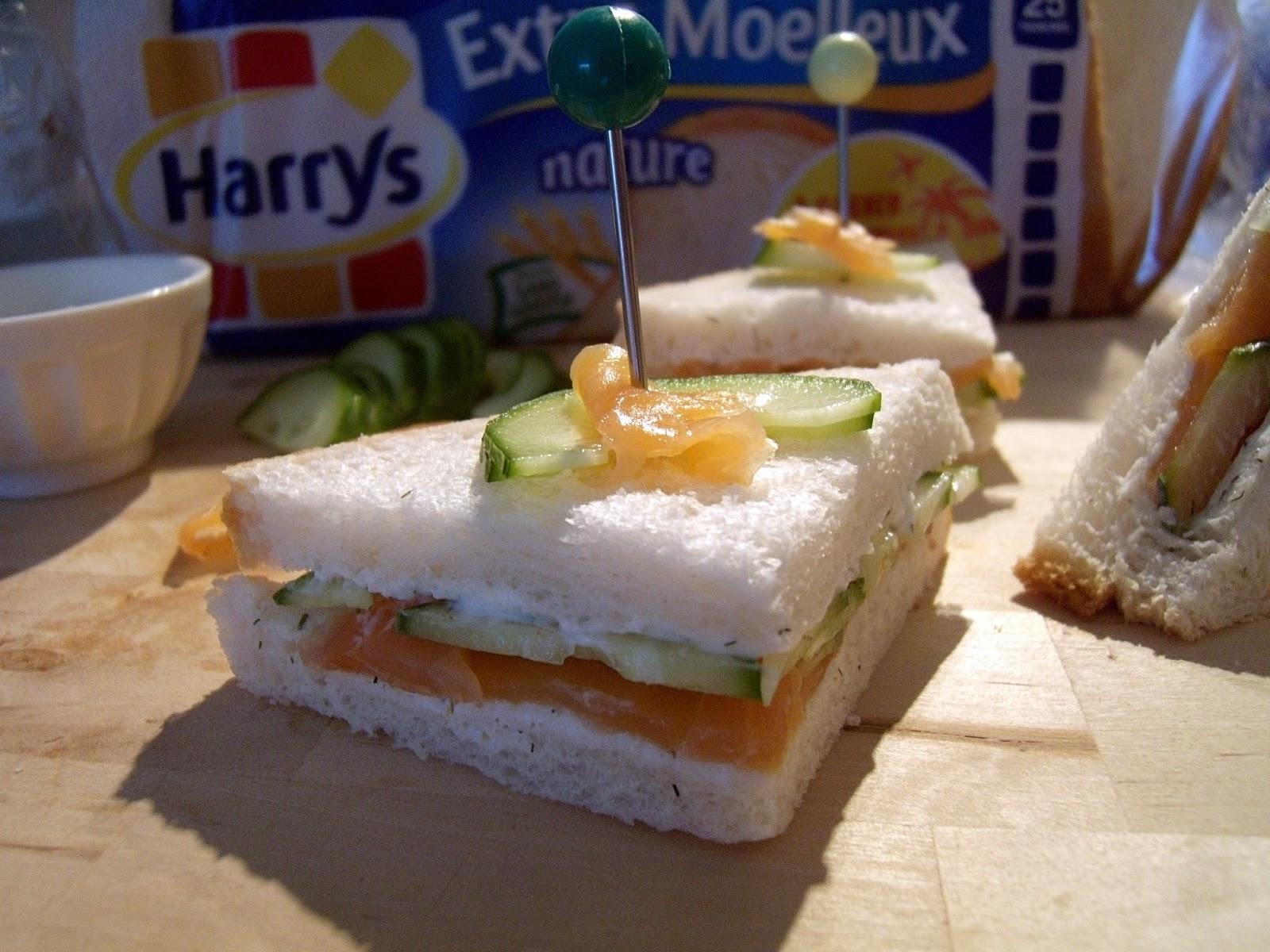 dey cuisine le pain de mie harrys de l 39 entr e au dessert episode 1 sandwiches truite fum e. Black Bedroom Furniture Sets. Home Design Ideas