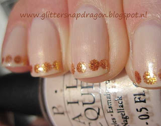 OPI At Fist Sight and OPI Goldeneye