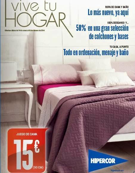 catalogo hipercor vive tu hogar ene-feb 2014