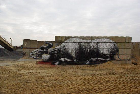 Graffiti merupakan bidang ilmu tersendiri yang memiliki nilai positif ...