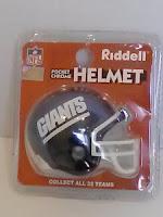 Riddell NY Giants Super Bowl XXV helmet