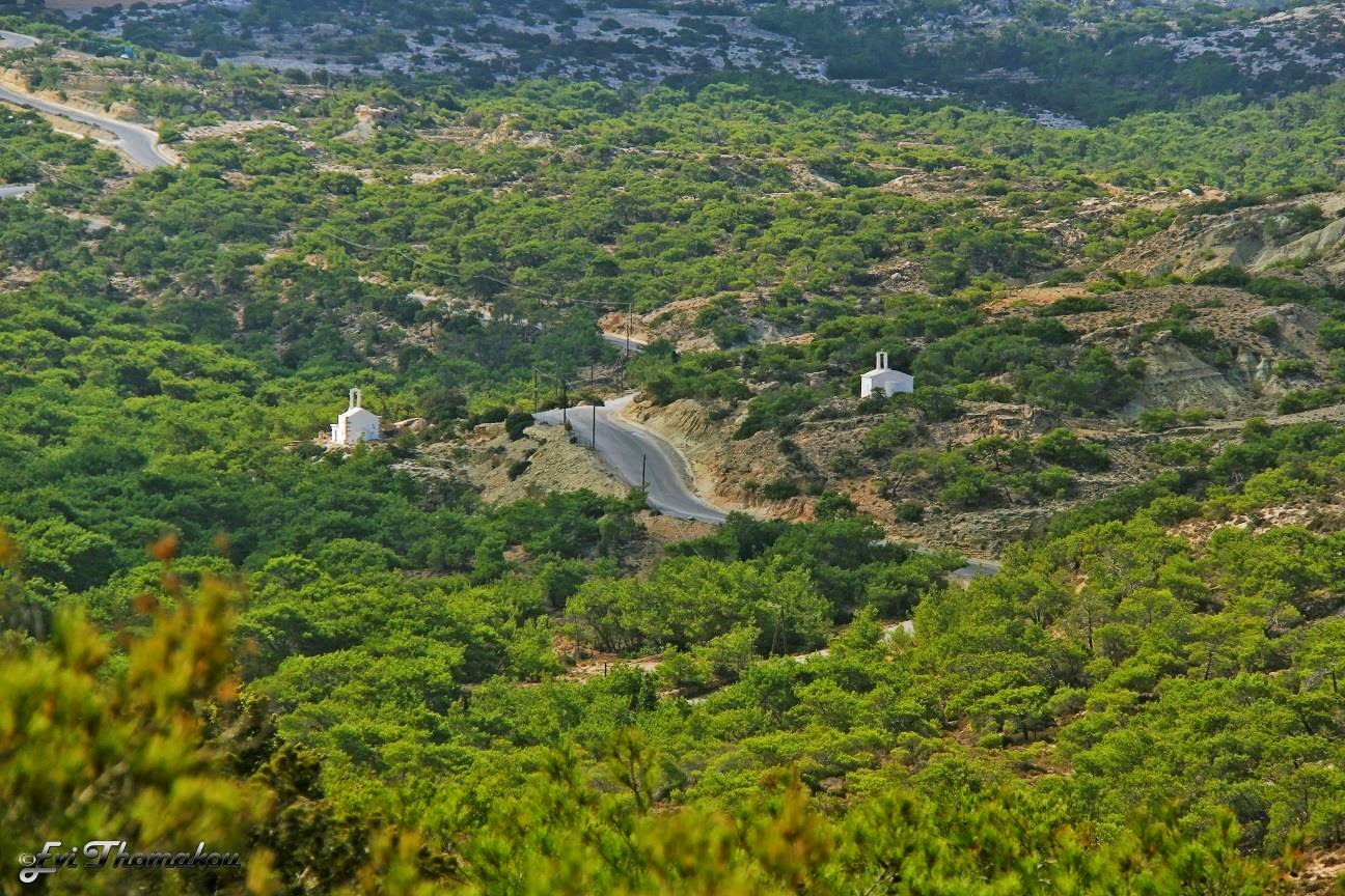 Christos & Panagia churches - Οι εκκλησίες του Χριστού & της Παναγίας