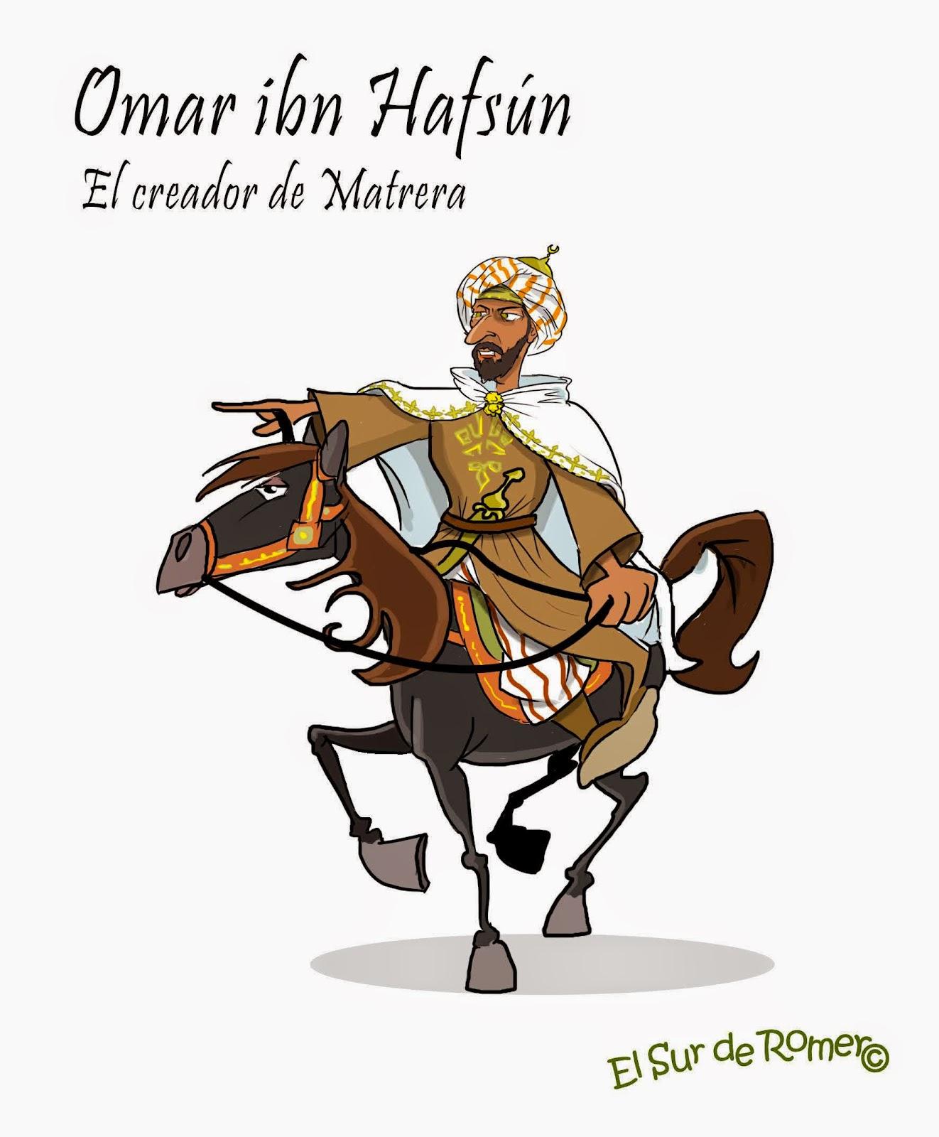 """<img src=""""Homar ibn Hafsún.jpg"""" alt=""""guerrilleros de Iptuci en dibujo""""/>"""