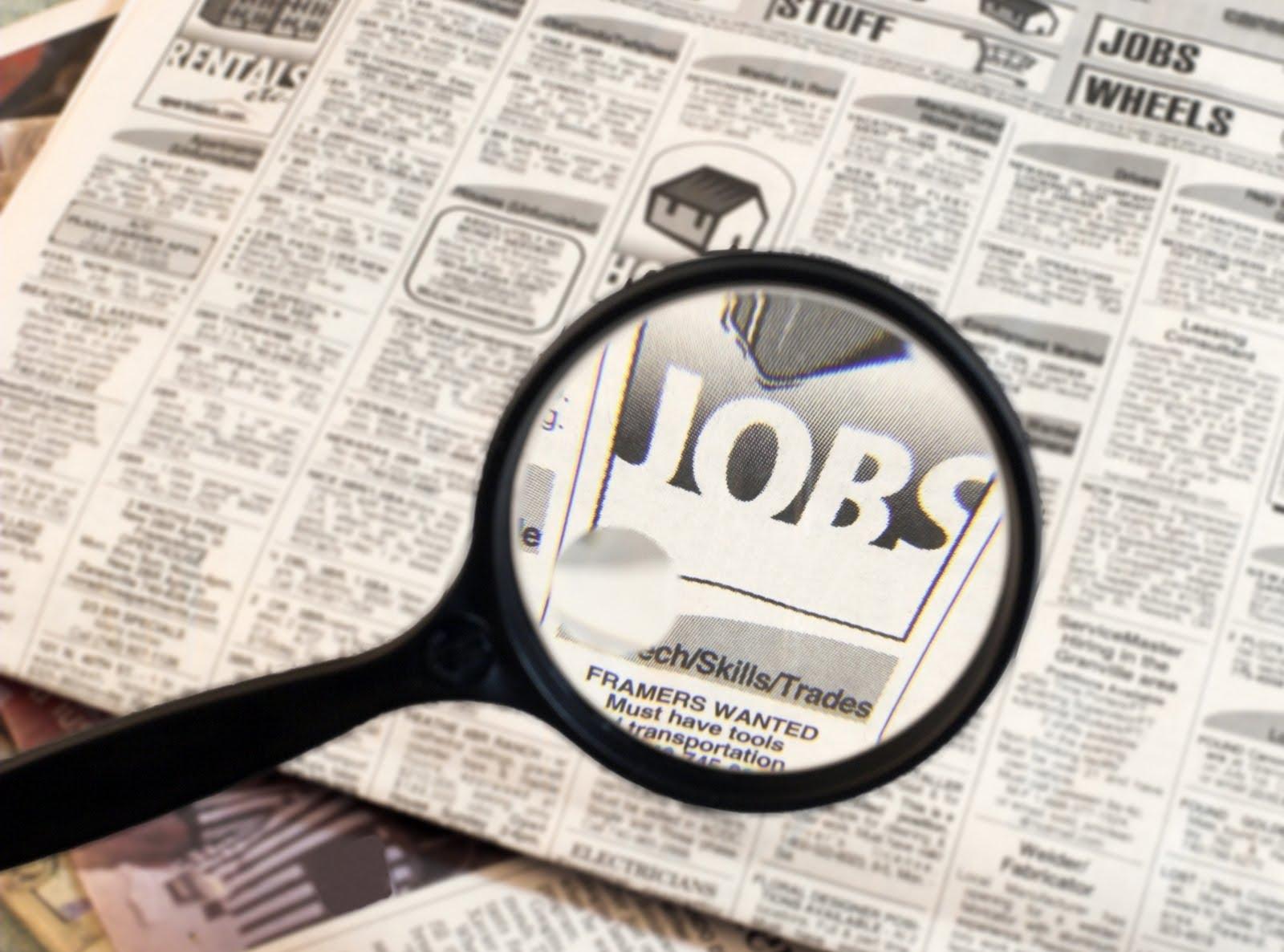 JobSearchNewspaper İş Arama İnternetten Daha Kolay