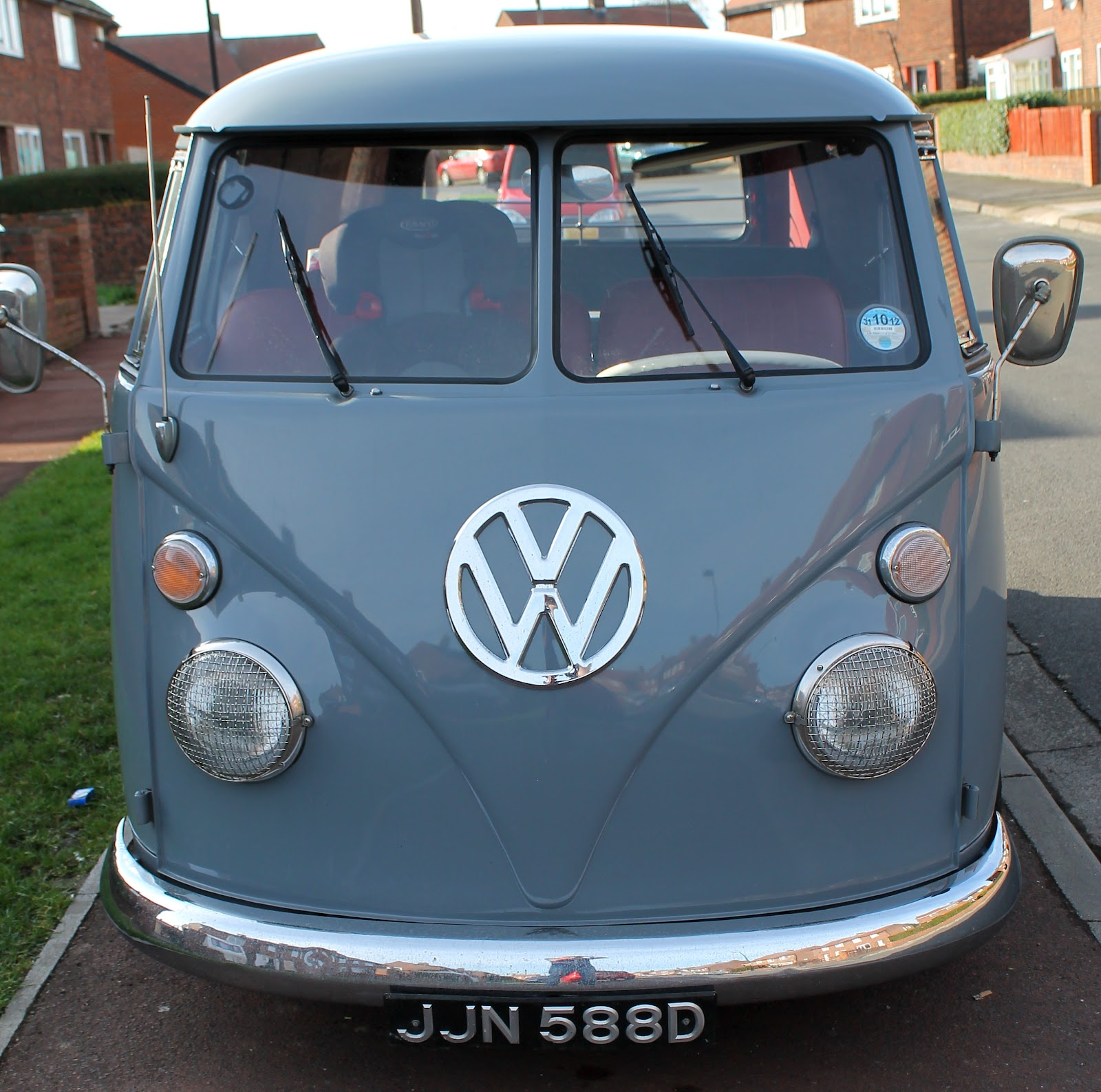 Beautiful V-Dub panel van owned by Paul J.