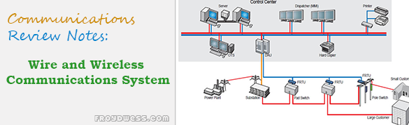 Review Notes in Wire and Wireless Communications System