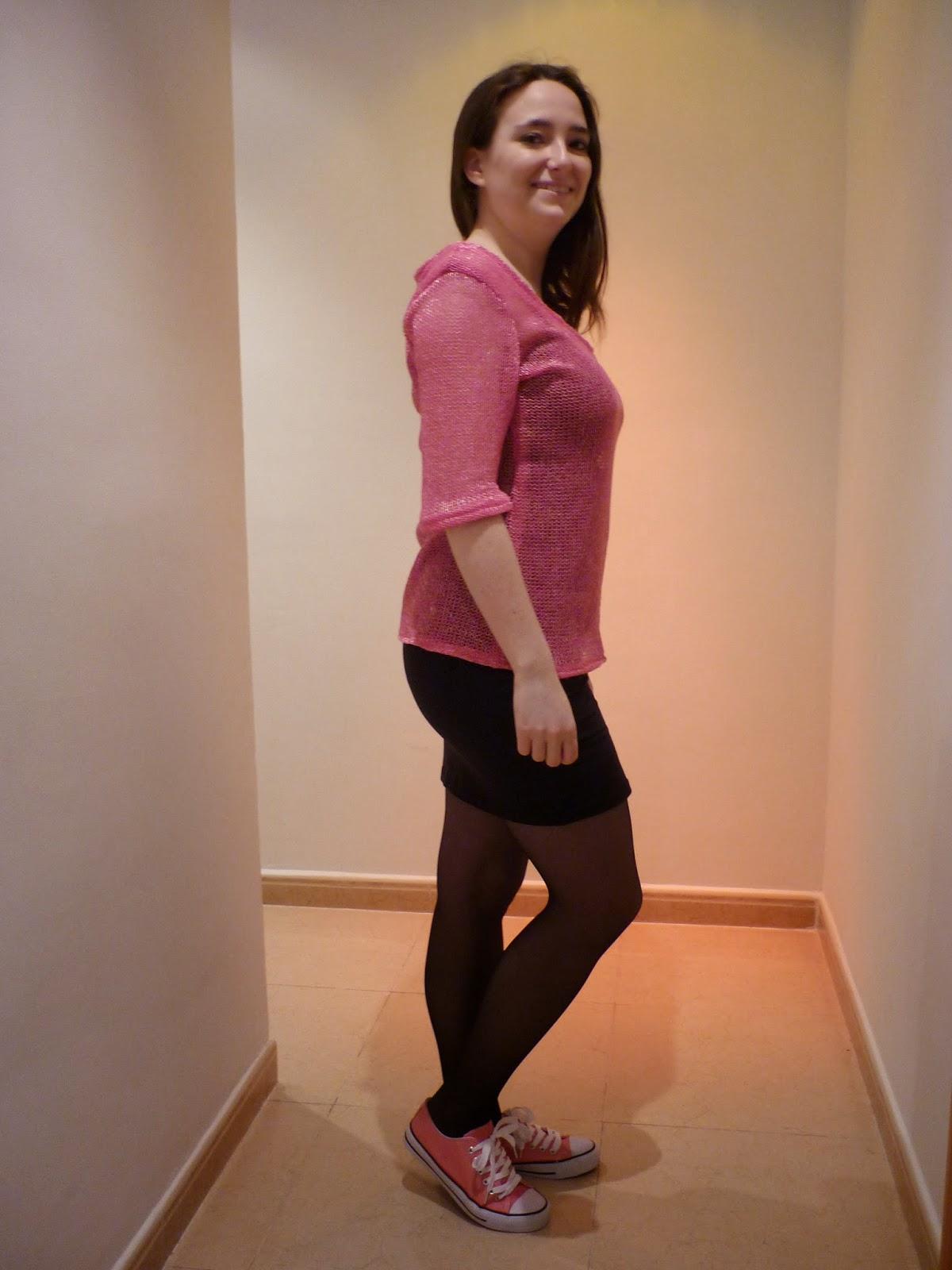 renfrew top jersey rosa pink modistilla de pacotilla