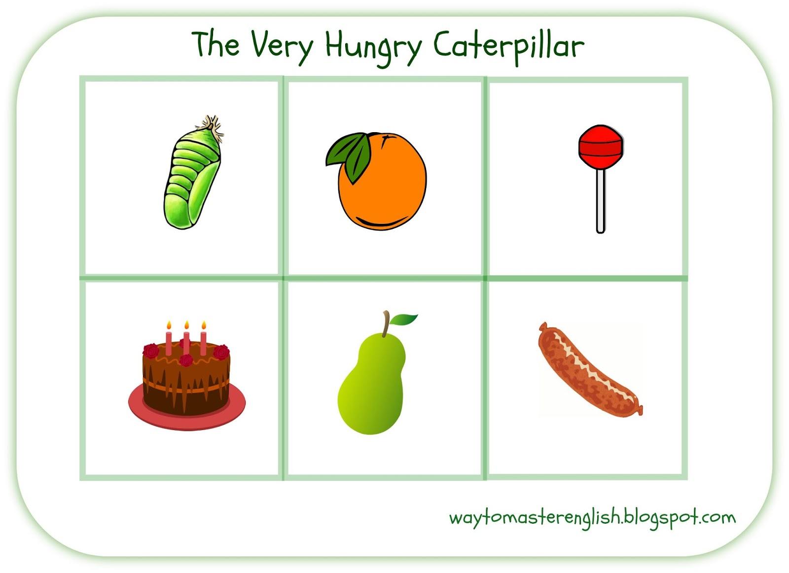 Funglish The Very Hungry Caterpillar