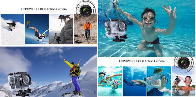 DB Power Action Camera