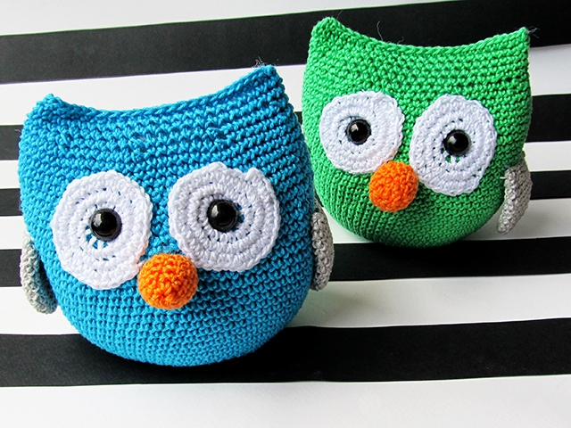 Amigurumi Owl Crochet Patterns Free : Amigurumi Owl Pattern - Little Things Blogged