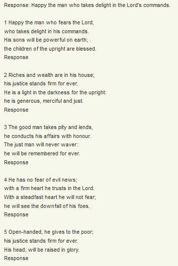 And As I Previously Mentioned Above The Responsorial Psalm May Be Sung There Are So Many Beautiful Psalms In Song Form That You Will Spoiled For