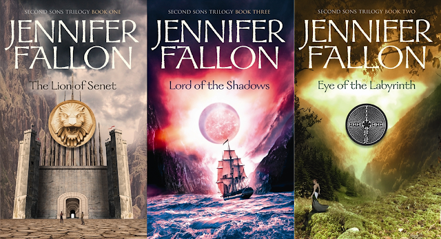 Second Sons Trilogy by Jennifer Fallon