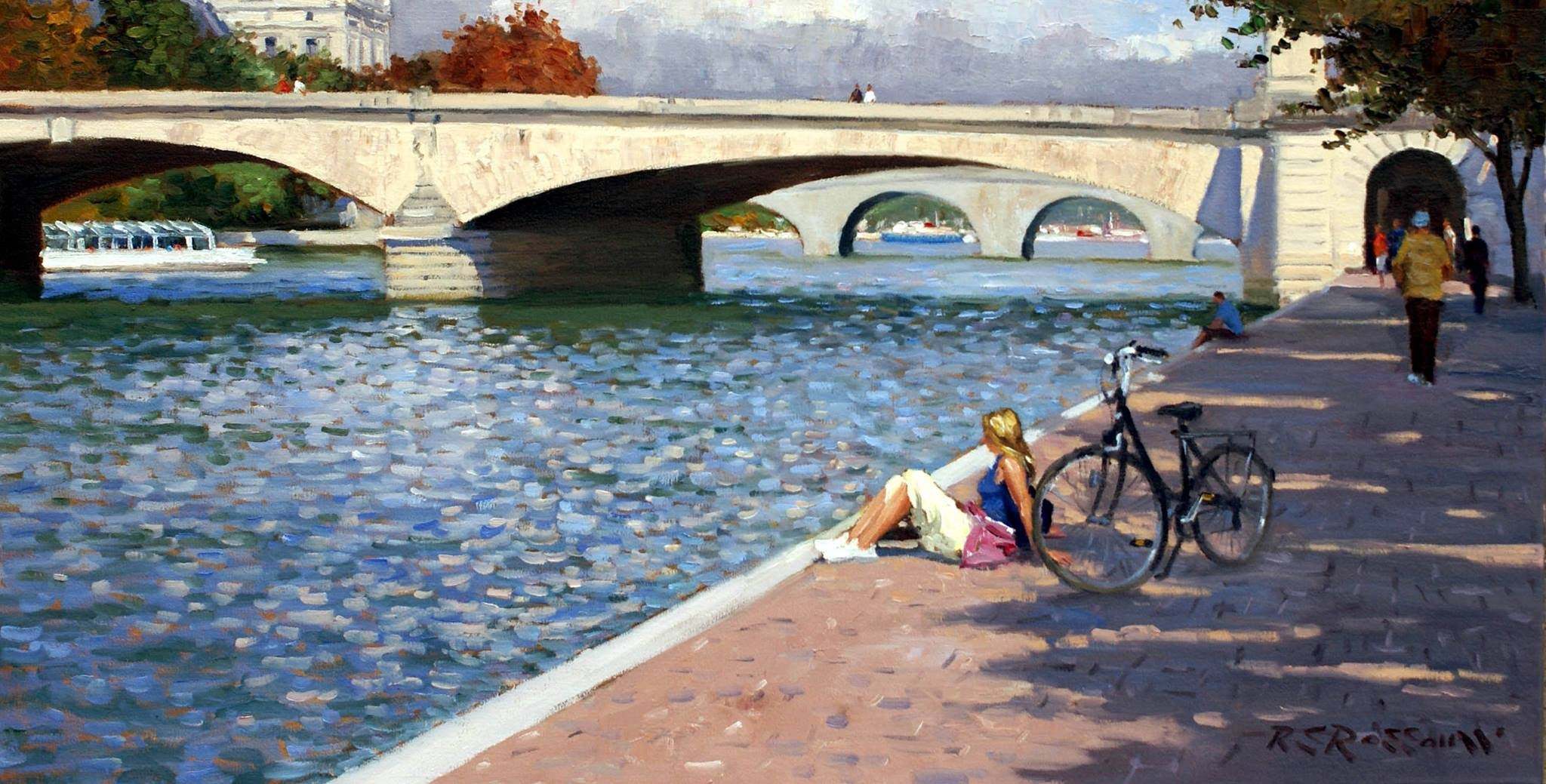 Roelof Rossouw Along the Seine Paris