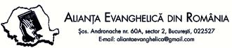 † Alianța Evanghelică din România: COMUNICAT