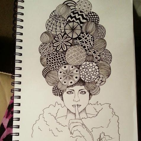 judy's zentangle creations crazy