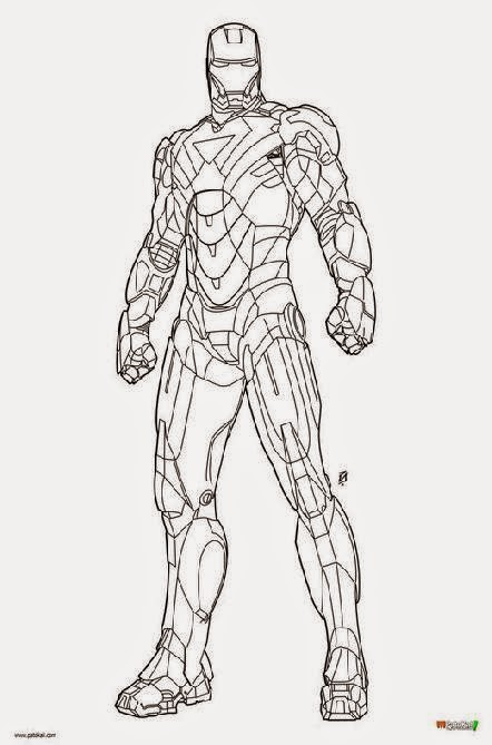 Iron Patriot Coloring Page Iron Man 2 Coloring Pages