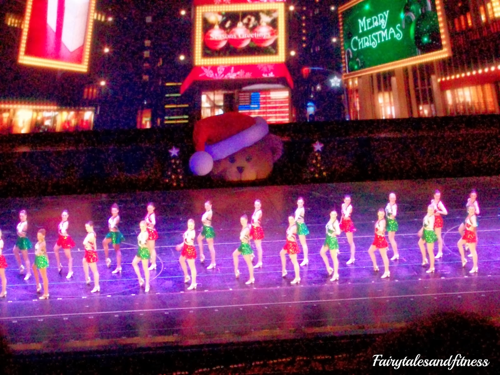 Fairytales and Fitness: Radio City Music Hall Christmas Spectacular ...