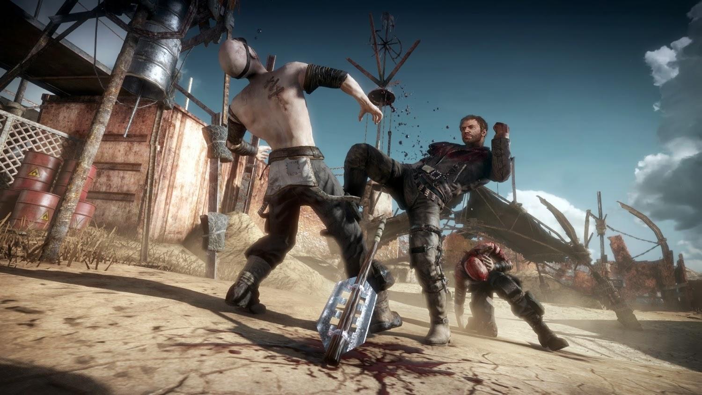 Escena del juego Mad Max.
